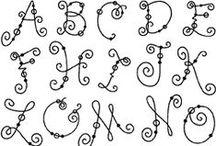 Alphabet & Abécédaire