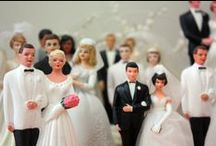 Top cake & Vintage wedding cake topper