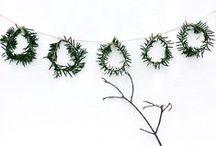 Couronnes de l'Avent et de Noël & Xmas wreath