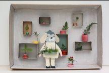 Un tout-petit monde & Dioramas & a litle world