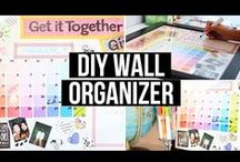 DIYs / DIYs to get creative and organised :)
