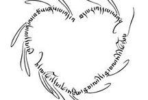 tibetan calligraphy / tattoo designs / tibetan calligraphy / tattoo designs