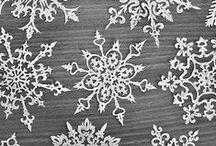 Basteln Xmas Schneeflocken Snowflakes