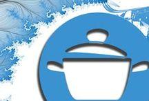 Kochtöpfchen / Wir ändern gerne mal unser LOGO... und dabei kommen immer andere Kochtöpfchen bei raus :)