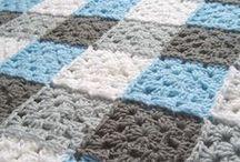 Häkeln Crochet Granny Patchwork Decken