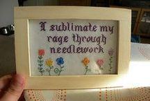 Needlework / Cross stitch, embroidery, darning