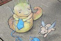 Streetart, installations, yarn bombing, culture jamming etc.