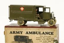 Toys and Models / Within our Antiques and Collectables sale we hold a specialist section of die-cast toys, tinplate toys, Britains, dolls and teddy bears