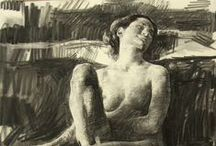Figure Drawing Inspiration / Inspiring figure drawings by artists of the past and present.