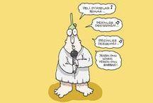 Hunililer Yiğit Özgür / Yiğit Özgür'ün Hunililer karikatürleri