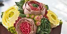 Flower Cakes / Pasta ve kek dekorasyonu