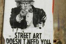 StreetArt / Street art all around Europe