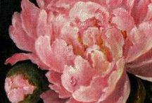 art of flowers / paintings of flowers ~ because this  board has been growing quickly and because of the unique style of many Asian flower paintings, I have also created a second board 'art of flowers - Asian' and a third 'art of flowers - more realistic/botanical' / by anita loveday