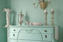 Dresser & Cabinet