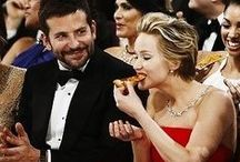 Jennifer Lawrence / Pizza