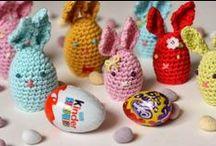 Pasqua ( conigli & pulcini) - Easter (bunny & chick) Crochet