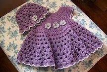 Vestiti bebè/bimba - Baby/girl dress Crochet