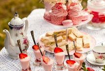 AFTERNOON TEA / Some gorgeous afternoon teas!