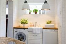 Laundry Room Inspiration / Laundries that inspire organisation