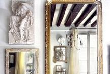 Mirrors / One our favourite ways to decorate