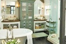 Bathroom / bathroom, decor, design, ideas, interior, furnishings