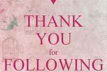 To all my followers! / Many thanks to all my followers!
