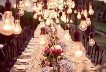 Light Up Your Life / Lanterns, fairy lights and candles are just the bees knees.
