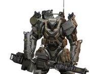 mech, mecha, robot, bot