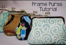 Bags, Purses, Totes / Tutorials and inspirations. / by Sanity's Crafts-Machine Embroidery
