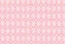 motifs : losanges / diamonds /