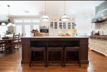 Kitchens with 2 or More Stain or Paint Colors / Kitchens we've remodeled using several colors of stain or paint