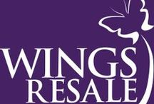 Shop with us! / Support us by donating or shopping at our fabulous Resale stores in Niles, Palatine, and Schaumburg. The stores provide us with over 30% of the funding we need to provide critical services to the women and children in our program. You won't believe the tremendous bargains you can find at WINGS Resale Stores!