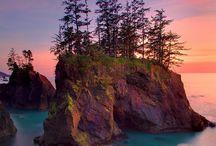 Oregon: Wonders of Nature / Oregon impressed me with its beautiful nature and West Coast feel.