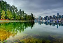 Vancouver: Favourite Places to go to / Some of my favourite places to visit in the Vancouver Area.