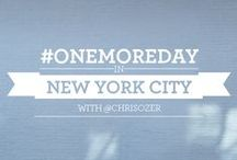 #OneMoreDay in NYC / Every year, Americans fail to take 400 million vacation days. Imagine how many priceless memories you could make if you traveled just #OneMoreDay?   Take a tour with photographer Chris Ozer's and spend #OneMoreDay in NYC.  / by MasterCard US