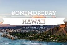 #OneMoreDay in Hawaii / Over 400 million vacation days go unused every year. That's 400 million days of exploring, traveling, tasting and bonding. What could you do if you took just #OneMoreDay?  Photographer Zak Noyle takes us on his #OneMoreDay adventure in Hawaii. / by MasterCard US