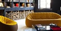 Color Psychology for Interior Design / Explore what color inspires in your home decor with inspiration on how to use it.