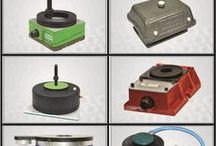 Product Design / Anti-Vibration Mounts for various Industrial Machines. Striving since 2000 ,Dynemech has established itself as a leading manufacturer and exporter of Anti Vibration Solutions and Vibration Dampers for machinery installations and industrial setups. Dynemech has designed a number of Anti-Vibration Solutions to achieve #vibration and #shockisolation over a wider frequency range with lower transmissibility and optimal #machine performance.