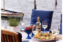 Forage + Feast lake style / Inspiration for creating simple memorable lakeside meals