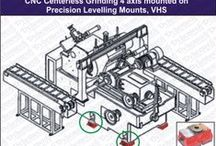 Vibra Mounts in Precision Centerless Grinders / Dynemech presents itself as a front-runner in designing, customizing and manufacturing of anti-vibration, Vibra mounts & vibro mounts, shock and noise control products. Utlizing the vibration damping properties of rubber compounds Dynemech Vibra Mounts are tested and proven ideal vibration elimination device for elimination of shocks, impacts and vibrations.