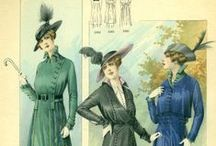 Fashion History / Fashion plates from leading French, British, American, and other fashion journals of the 19th century and early 20th century.