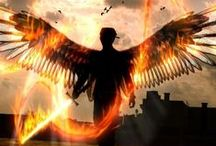 Character Inspiration: Wings / Angels or just people with wings / by Writing Inspiration