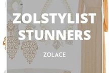 ZolStylist Stunners / Featuring combinations of Zolace products we put together to create different looks for Hijabista to suit your styles or occasions.  Remember, everyone can wear the same thing but it's YOU that makes it different!