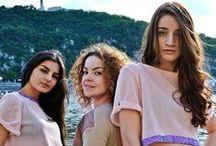 PARADOX CAMPAIGN SS/14 / Designer: Tina Ruppl  Models: Ivett Horvath, Kata Németh, Petra Sándor