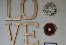 Home Sweet Home / Decoración de hogar