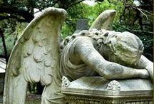 Tomb Stones / graves, tomb stones, tomb statuary, cemetery
