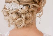 Bridal hair inspo! / Gorgeous bridal hair