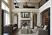 interior design / Residential interior design. Decor and designs within spaces that are a little closer to home.