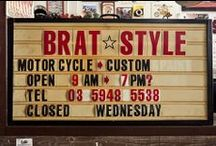 BRAT STYLE Inspired / cool japanese bratstyle bikes