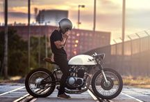 Cafe Racers and Scramblers / by Florian Arvanitopoulos